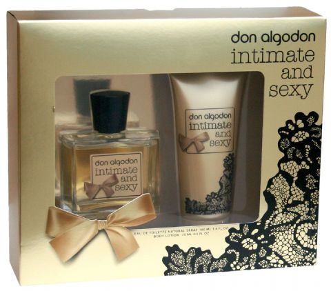 Pack agua de colonia y loción corporal Don Algodon intimate and sexy